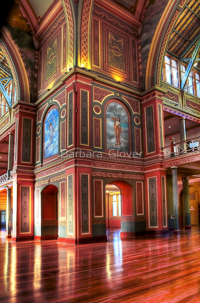 Royal Exhibition Building. (Open House 2011) by Barbara  Glover