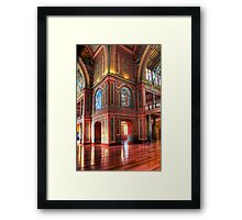 Royal Exhibition Building. (Open House 2011) Framed Print