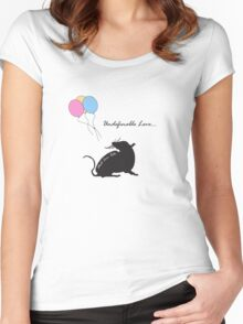 Undefinable Love Women's Fitted Scoop T-Shirt