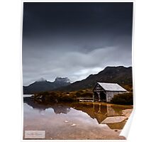 Dawn at Dove Lake Poster