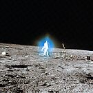 Blue Halo - Alan Bean - Apollo 12 by Bundjum
