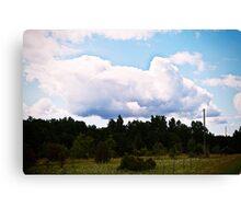 The Sky. Canvas Print