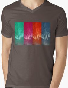 Reflections of the Four Seasons Mens V-Neck T-Shirt