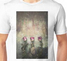 Three dried roses Unisex T-Shirt