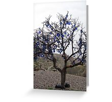 Turkey - Evil Eye Tree Greeting Card