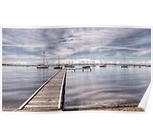 Coal Point, Lake Macquarie Poster
