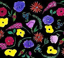 Dark Flowers by nichedrawings