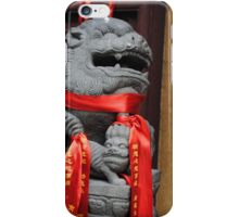 Chinese Lion II iPhone Case/Skin