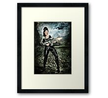 Lycan Slayer Framed Print