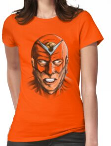Heroic Menace Womens Fitted T-Shirt