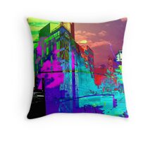 New York City Color Blast Throw Pillow