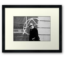 The Unsuspecting Anarchist Framed Print
