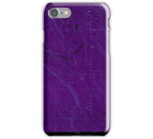 USGS Topo Map Oregon Location Butte 280558 1968 24000 Inverted iPhone Case/Skin