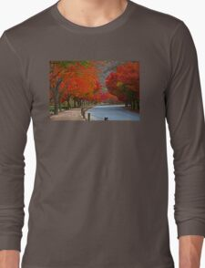 A Red Road Long Sleeve T-Shirt