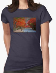 A Red Road Womens Fitted T-Shirt