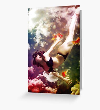 Wonderland II: Dream Greeting Card