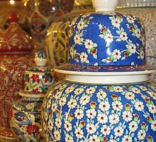 Turkey - Ottoman Pots by soulimages
