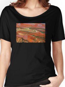 Dongchuan Red Land 01 Women's Relaxed Fit T-Shirt