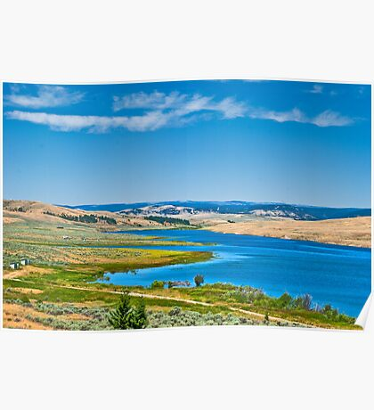 Lake Harris, Meagher County, Montana Poster