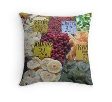 Turkey - Dried Throw Pillow