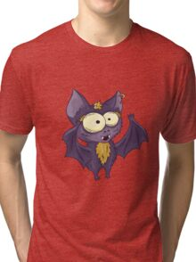 Hand drawn cute bat Tri-blend T-Shirt