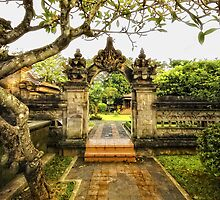 Entrance to a Balinese House by Charuhas  Images
