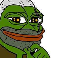 Pepe Frog Witcher 3 Geralt by MountyBounty
