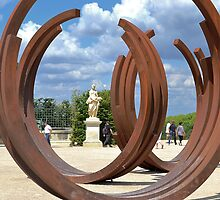 Old and New at Versailles by Imagery