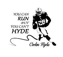Carlos HYDE full by trevorhelt