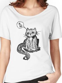 Ink Cat Women's Relaxed Fit T-Shirt