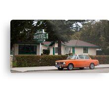 Los Alamos Motel Metal Print