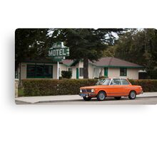 Los Alamos Motel Canvas Print