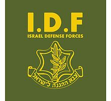 IDF Israel Defense Forces - with Symbol - ENG by crouchingpixel