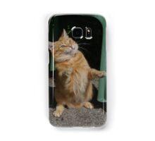 Playful cat Samsung Galaxy Case/Skin