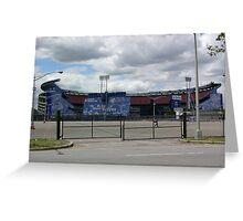 Shea Stadium Greeting Card