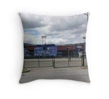 Shea Stadium Throw Pillow