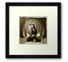 Little Egypt Framed Print
