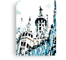 White Cathedral Canvas Print