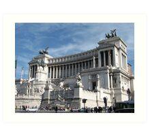 Monumento a Vittorio Emanuele Art Print