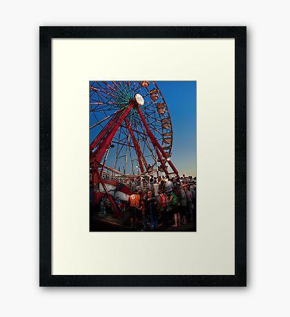 Carnival - An Amusing Ride  Framed Print