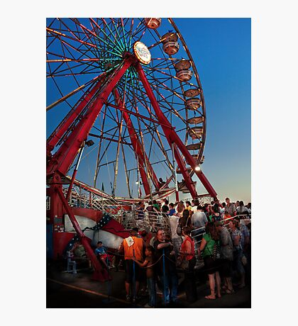 Carnival - An Amusing Ride  Photographic Print