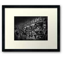 Carnival - Game-A-Rama Framed Print