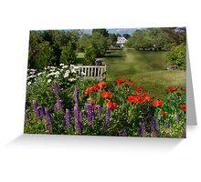 Flower - Poppy - Piece of heaven Greeting Card