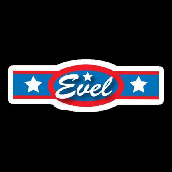 Evel Knievel - Horizontal Strip V.2 by Lordy99