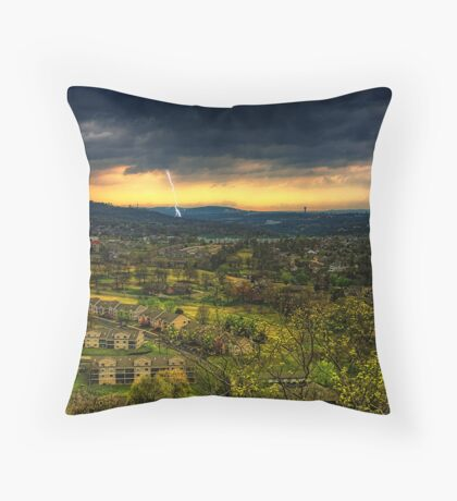 Royale Sunset Throw Pillow
