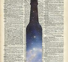 Dictionary Art - Magic Beer,Carina Nebula,Space Art by DictionaryArt
