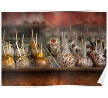 Chef - Caramel apples for sale  Poster