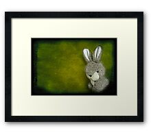 One Bunny Framed Print