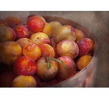 Food - Peaches - Farm fresh peaches  Photographic Print