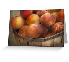 Food - Peaches - Just Peachy Greeting Card